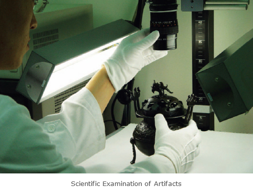 Scientific Examination of Artifacts