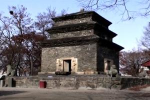 경주 분황사 모전석탑