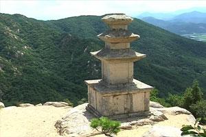 경주 남산 용장사곡 삼층석탑