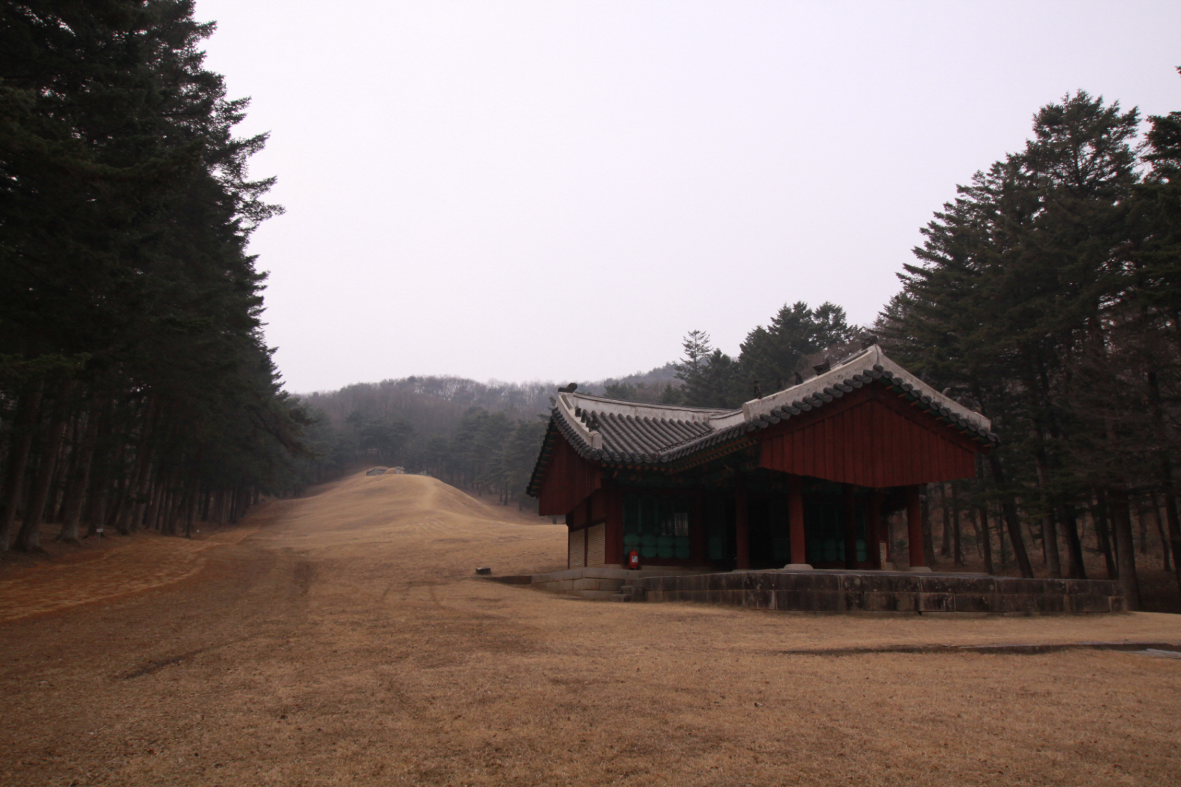 General view of royal tomb Sulleung Soryeongwon