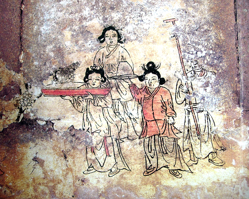 Wall Painting Tomb of Bak Ik in Miryang
