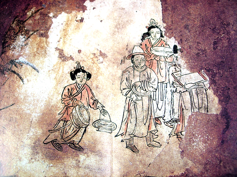 Mural Tomb of Bak Ik in Miryang