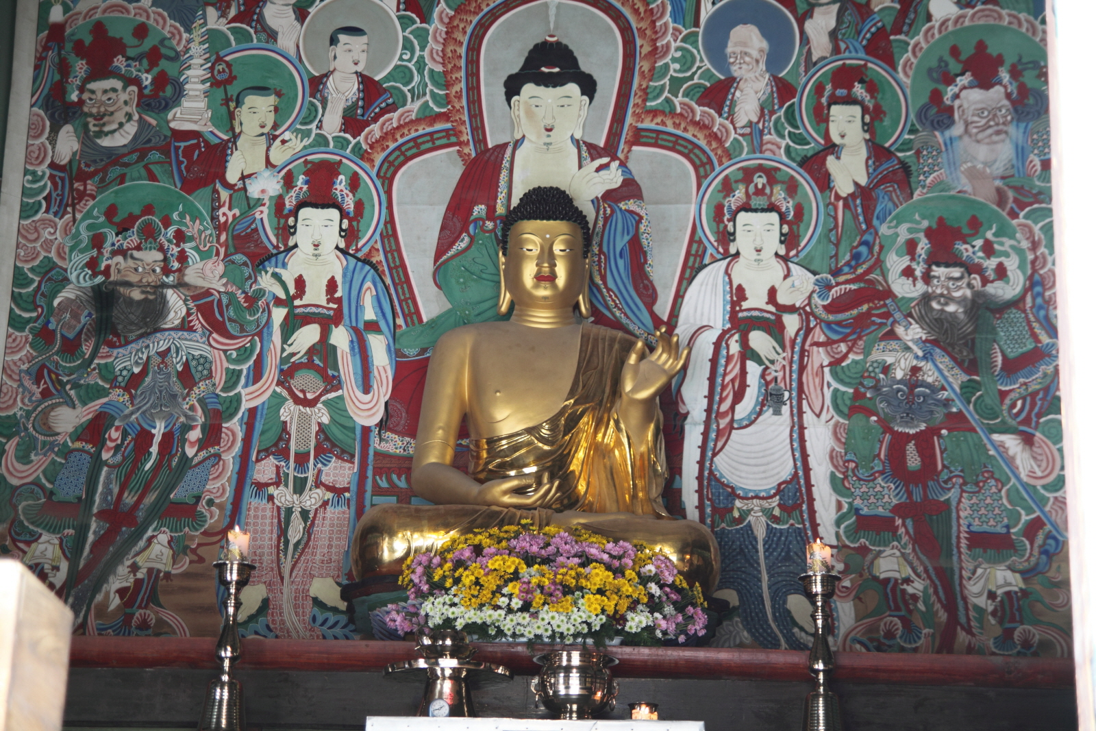 Gilt-bronze Seated Amitabha Buddha of Bulguksa Temple, Gyeongju