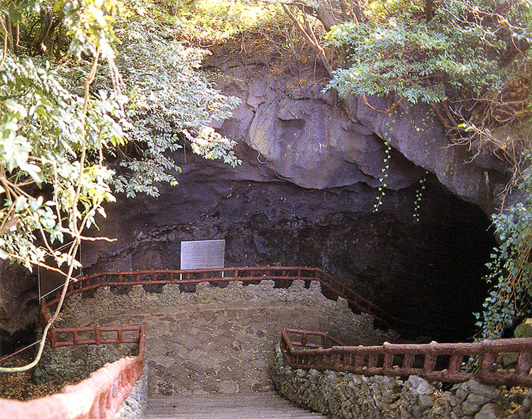 Enterance of Manjanggul cave