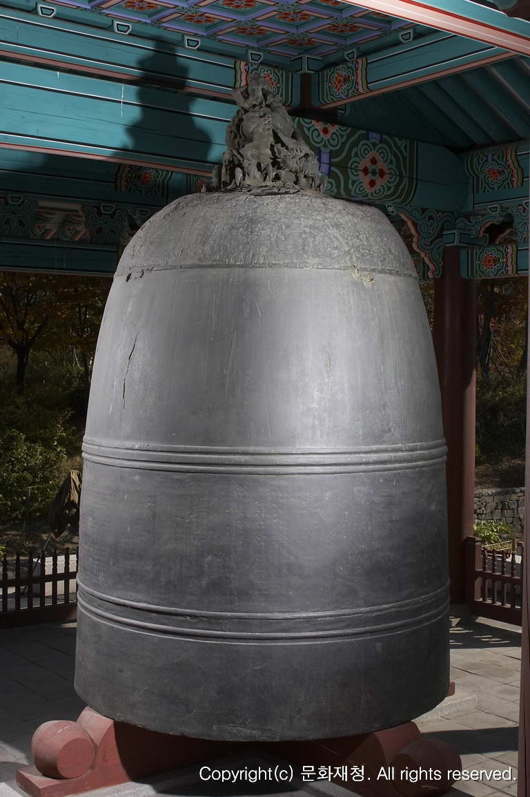 Old Bronze Bell of Bosingak Pavilion