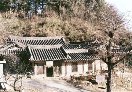 김성래가옥전경