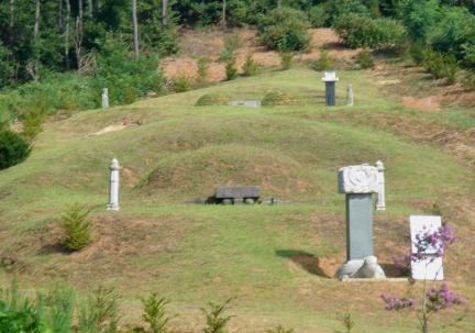 진천 강세황 묘소
