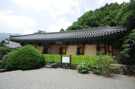 쌍계사적묵당 (촬영:문화재청)