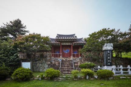 문화재자료 5호_조치원 봉산영당_정면