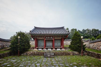 문화재자료 5호_조치원 봉산영당_정면2