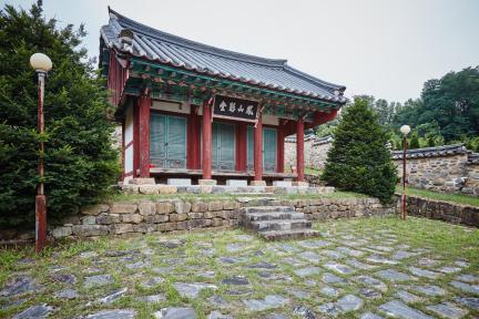 문화재자료 5호_조치원 봉산영당_정측면5