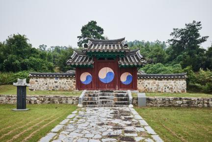 문화재자료 16호_괴산 석보군묘각_정면전경