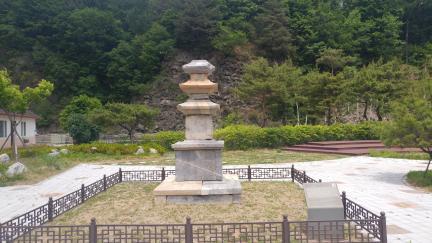 태백 본적사지 삼층석탑(복원)