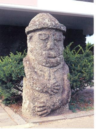 대정읍 안성리 추사관 입구(동측) 돌하르방