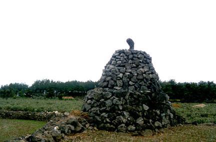 골왓마을방사탑1호