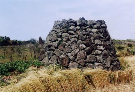 골왓마을방사탑2호