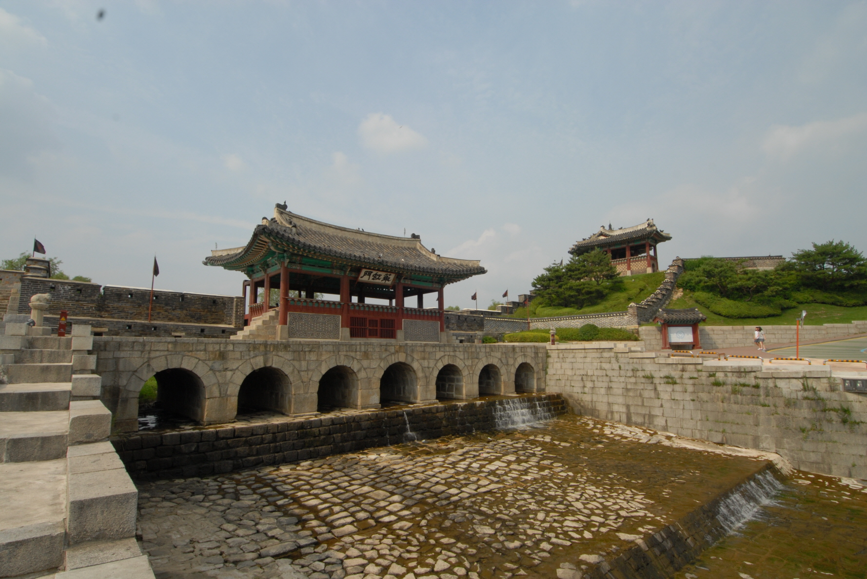 Hwaseong Fortress in Suwon