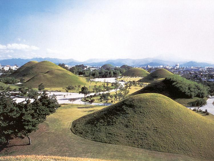 대릉원전경