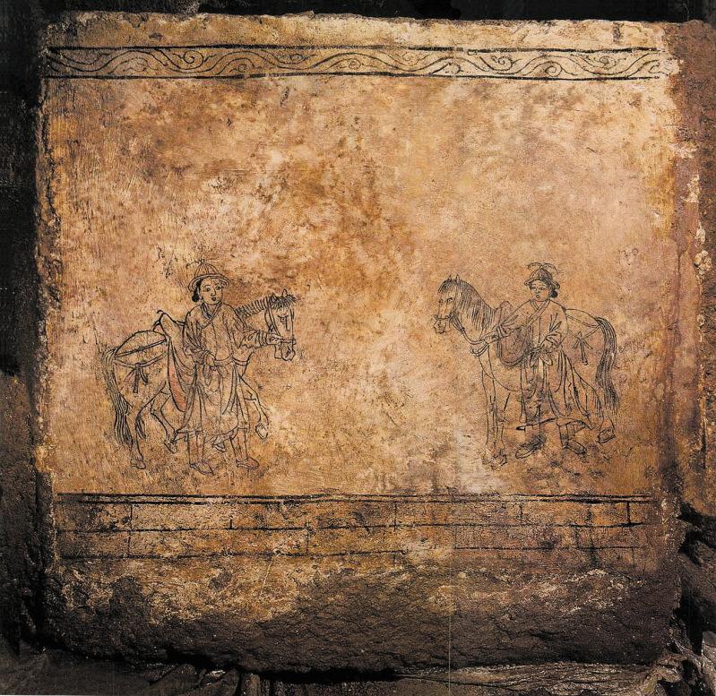 Mural Tomb of Bak Ik, Miryang
