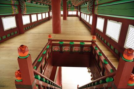 경복궁 광화문 내부