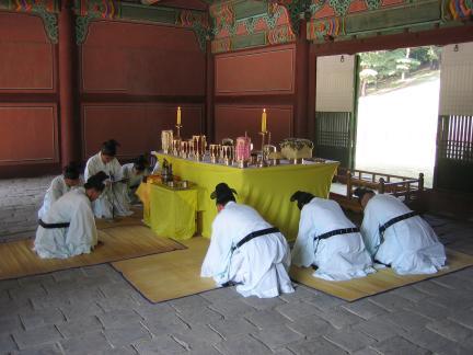 인릉 제향