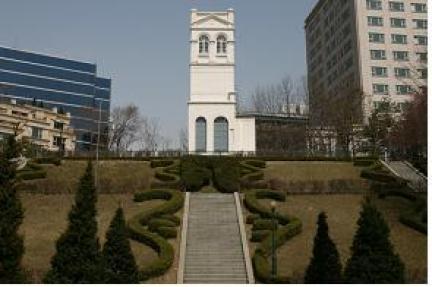2009년 보수공사 후 전경