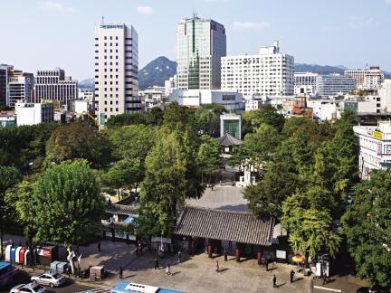 서울 탑골공원 전경