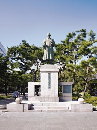 서울 탑골공원 - 손병희 선생 동상