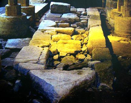 오간수문지 1호홍예기초석