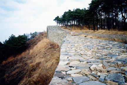 서측성벽상부