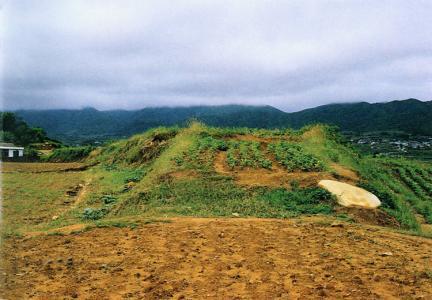발굴조사전상태(동문지주변)