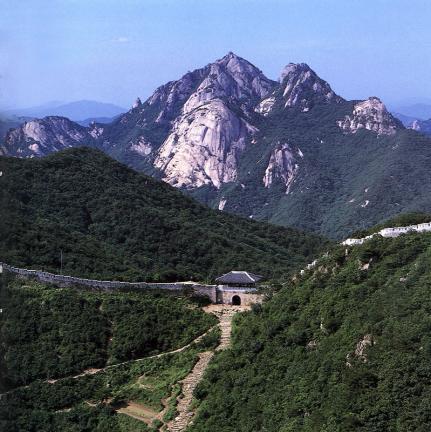 북한산성대남문주변