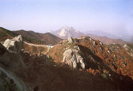 북한산성대남문원경