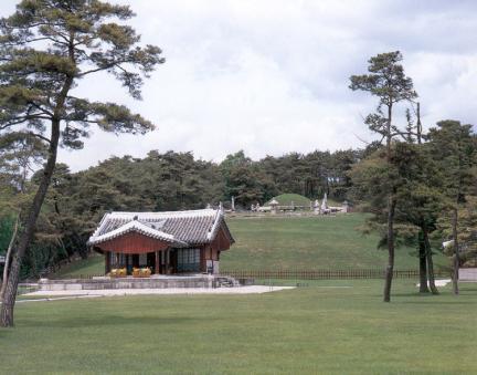 영릉전경-세종대왕