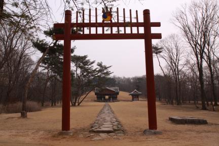 순릉 전경(2012.03.22.찰영, 파주삼릉관리소)