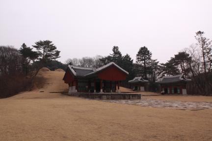 영릉 전경(2012.03.22.찰영, 파주삼릉관리소)