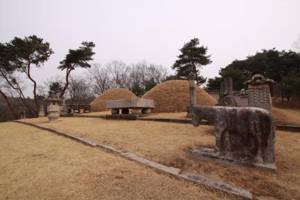 영릉 근경(2012.03.22.찰영, 파주삼릉관리소)