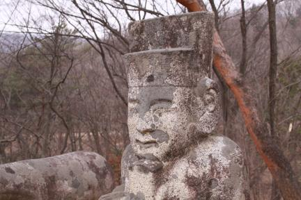 영릉 문석인(2012.03.22.찰영, 파주삼릉관리소)