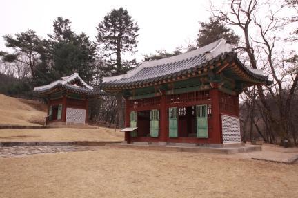 영릉 비각(2012.03.22.찰영, 파주삼릉관리소)