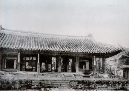 남한산성 하궐 전경(조선고적도보)