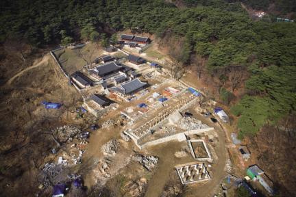 남한산성 행궁 전경