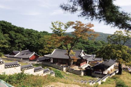 남한산성 행궁 근경