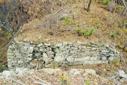 내성동문터개구부남측측벽