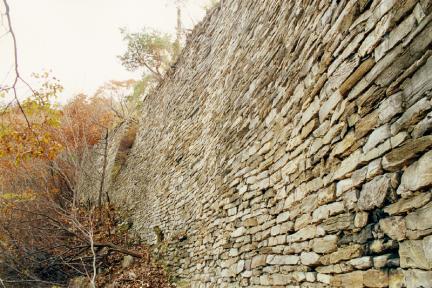 내성북동쪽성벽외측성벽