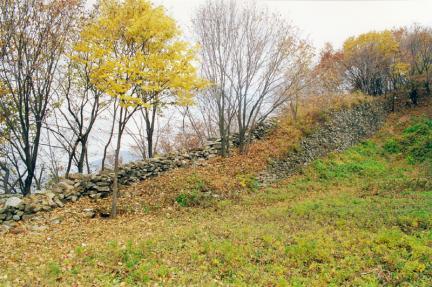 내성서북쪽성벽전경(성안에서)