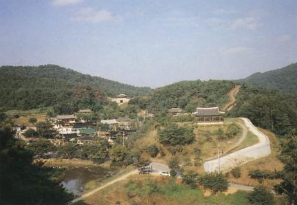산성내마을전경(동장대주변)