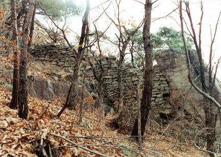 서벽북외성북서쪽외측벽