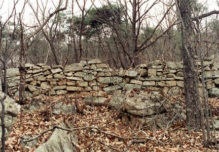 서벽북외성남쪽외측벽
