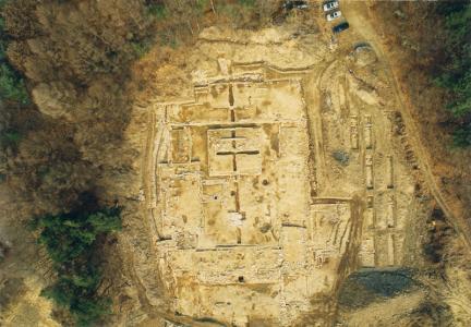 발굴지역전경