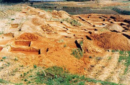 산수리 발굴작업모습('86)